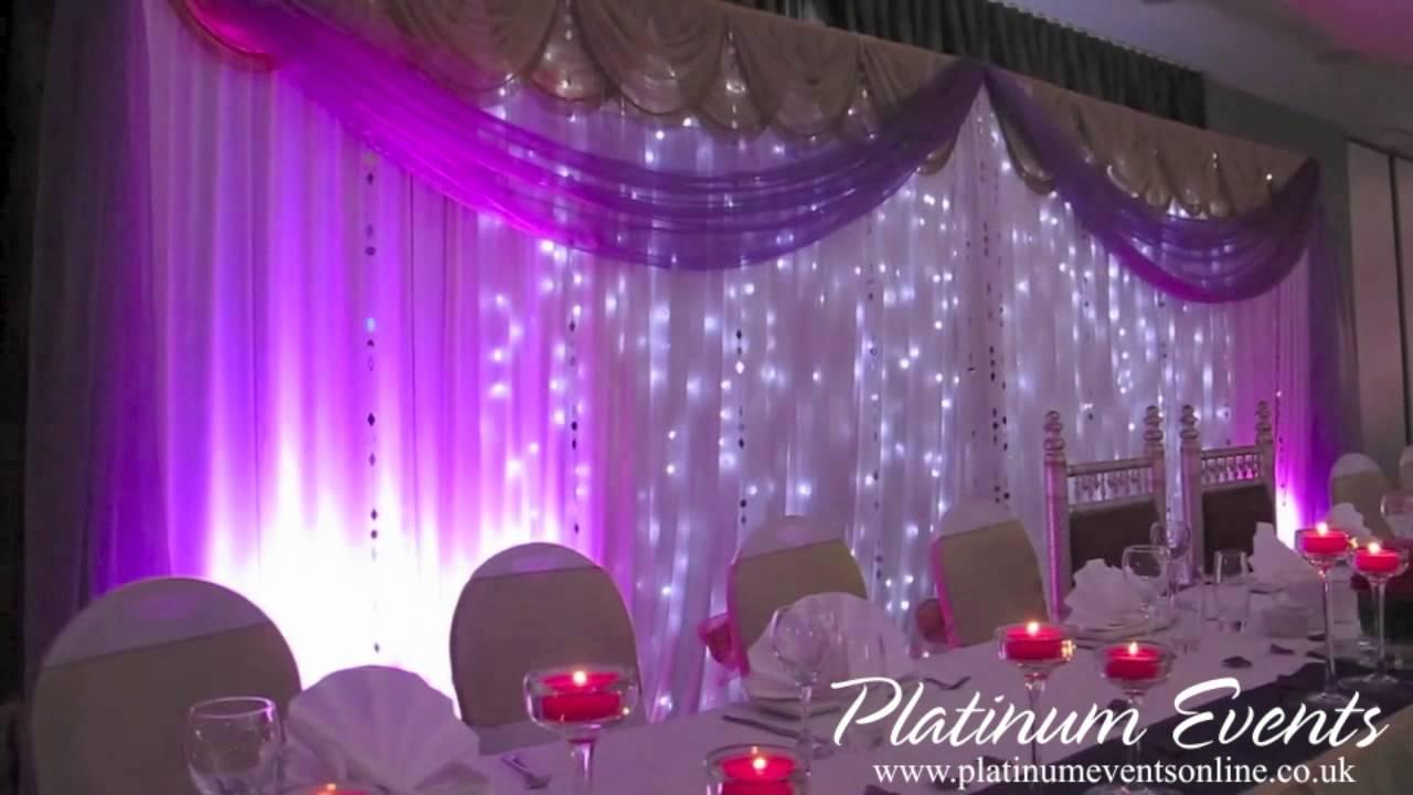 Platinum Events Full Wedding Event Decor Leicester Tigers