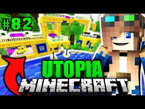 LUCY's neue LUXUSVILLA?! - Minecraft Utopia #082 [Deutsch/HD]
