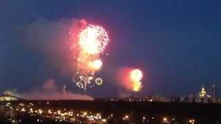 Салют над Москвой, 9 мая 2013