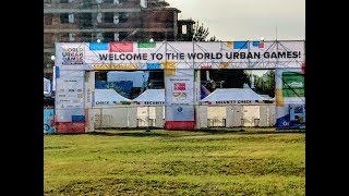 Day 1 - Flying Disc Freestyle at the World Urban Games