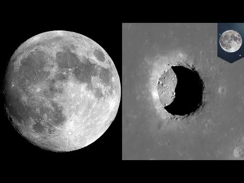 Moon base 2017: Lunar cave discovery may lead to human outpost on the moon - TomoNews