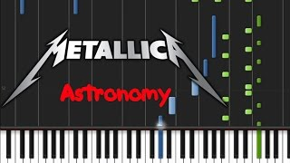 Metallica - Astronomy [Synthesia Tutorial]