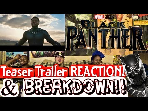 Black Panther Teaser Trailer Reaction & BREAKDOWN!