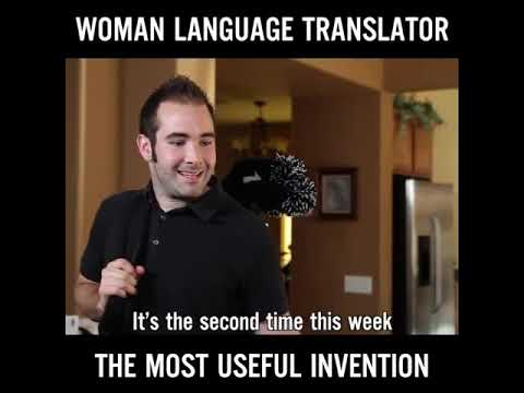 Women's language translation