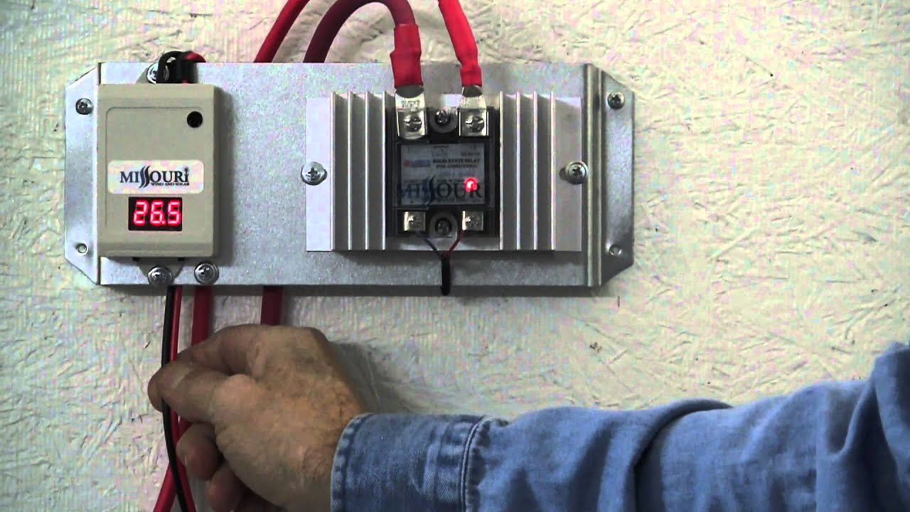 missouri wind and solar solid state solar panel charge controller rh youtube com