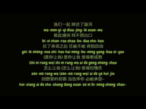 黄丽玲 (Huang Li Ling / A-Lin) - Woman In Love (Simplified 简体 Chinese 中文 / Pinyin 拼音 Lyrics 歌词 HD)