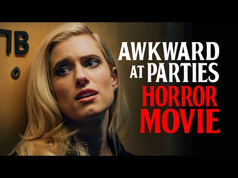 Awkward at Parties Horror Movie with Allison Williams and Lil Rel
