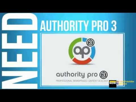 Authority Pro 3.0 - Best All-in-One WordPress Plugin for Sale Page - Review&Bonus