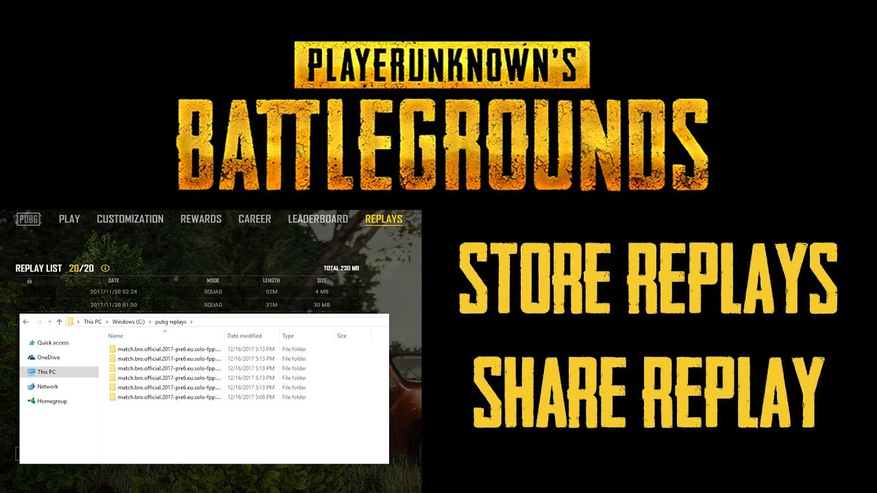 Pubg Replay System Save And Share Replays Propcgamingnetwork Propcgamingnetwork Loading