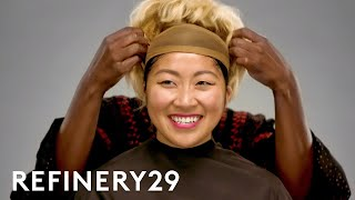 I Got Transformed Into Awkwafina From Crazy Rich Asians | Beauty Evolution | Refinery29