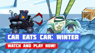 Car Eats Car: Winter Adventure · Game · Gameplay