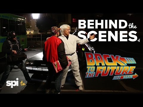 Behind the Scenes of Back to the Future Again - SPI TV, Ep.