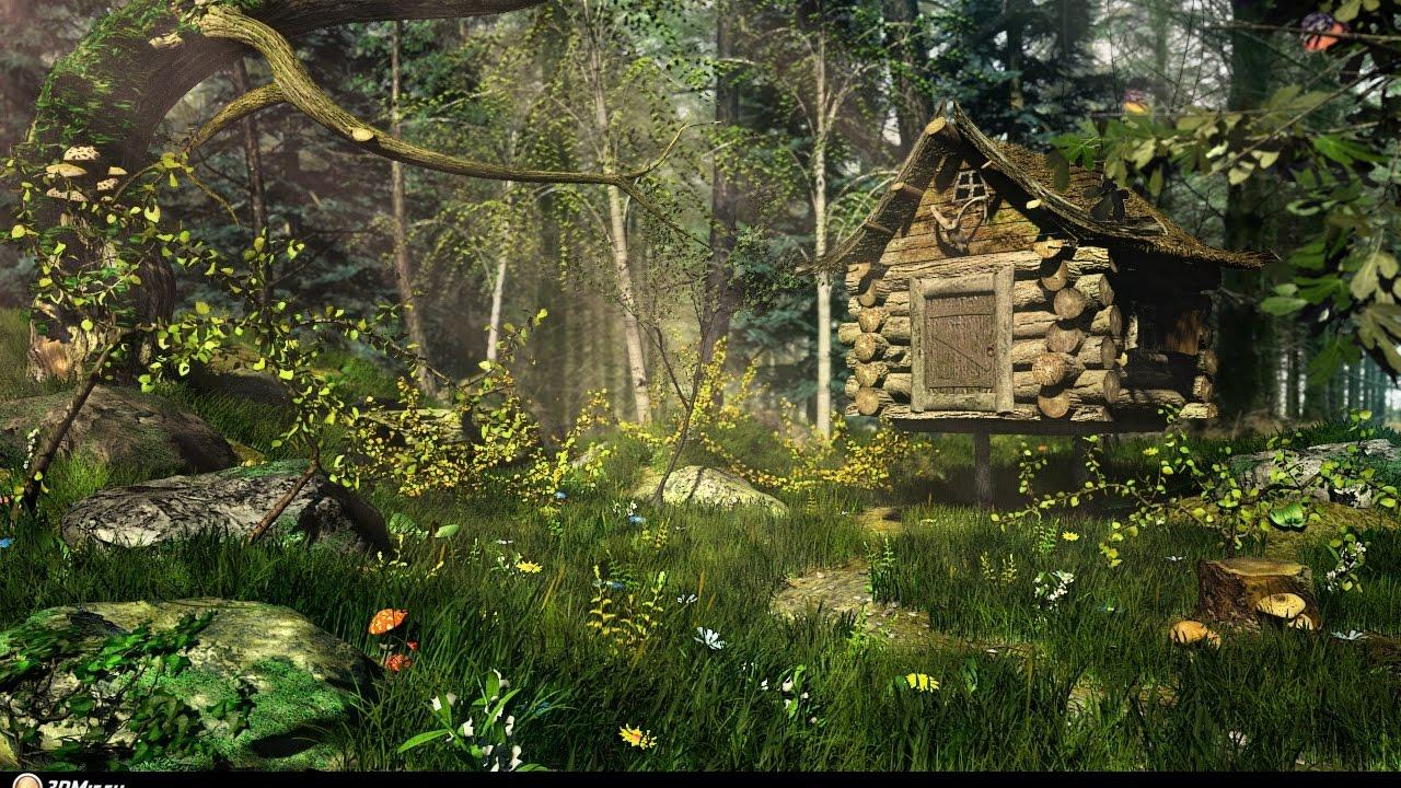 Сказка про волшебный лес