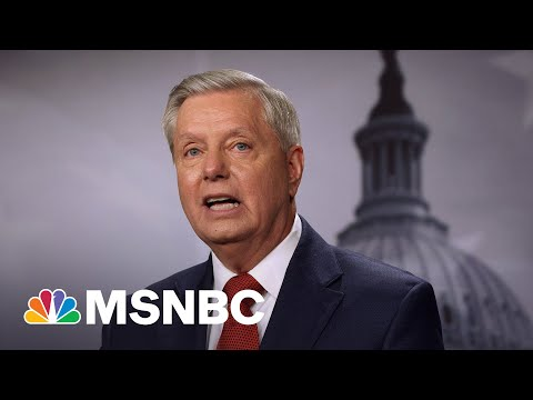 Lindsey Graham Claims Republican Party 'Can't Grow' Without Trump | MSNBC