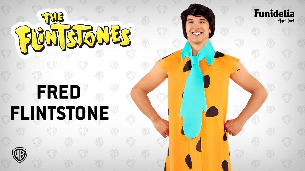 Funidelia fred flintstone costume - the flintstones. costumefunidelia -  officially licensed warner bros