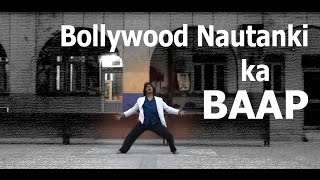 Bollywood solo dance by Gaurav Mehra - SOUL DANCE INSTITUTE (creative + funny)