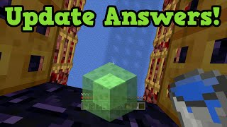 Minecraft Xbox 360 / PS3 TU30 QnA - Release Date & Slime Blocks