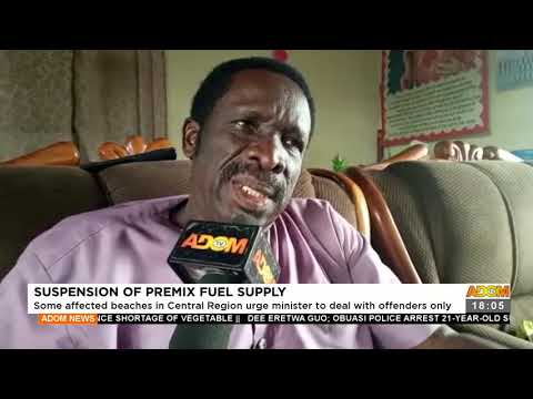 Some affected beaches in Central Region urge Minister to deal with offenders - Adom TV News(17-9-21)