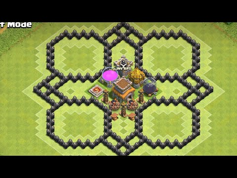 Best Th8 Hybrid Base Farming Clash Of Clan | Clashofclan Townhall 8 Stylish Base Farming