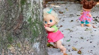 Baby Alive PLAYING HIDE AND SEEK pique esconde com Bia Lobo