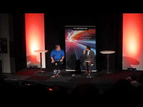 Steve Wozniak Talk at IP Expo 2013 in Stockholm
