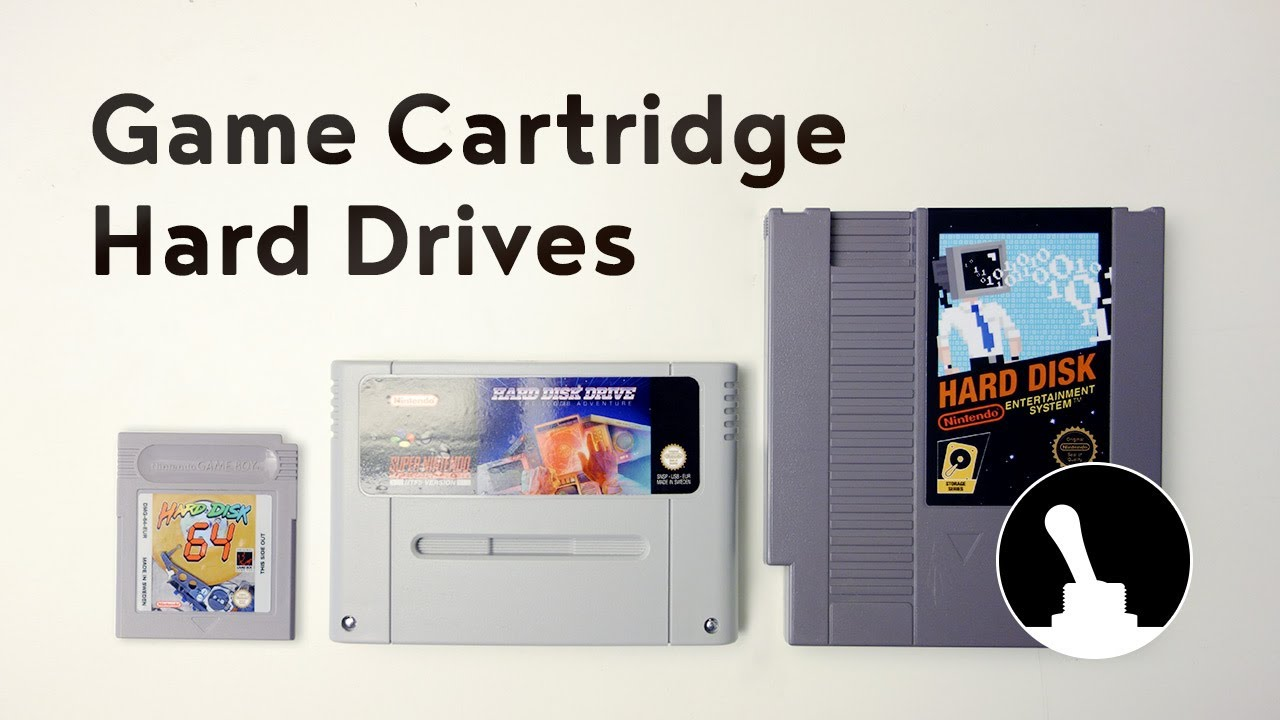 Make a Game Cartridge Hard Drive