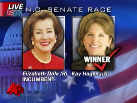 Hagan Defeats Dole in N.C. Senate Race