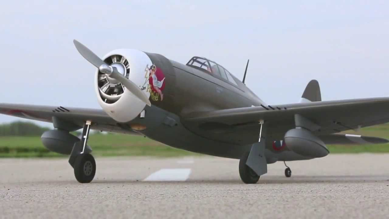 P 47D 1 Thunderbolt 60 ARF by Hangar 9   YouTube