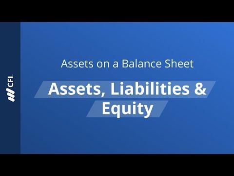 Assets on a Balance Sheet