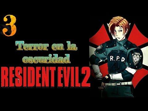 Pesadilla en la oscuridad - Gameplay Resident Evil 2 Parte 3 Leon B