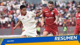 Resumen: UTC vs. Universitario (1-1)