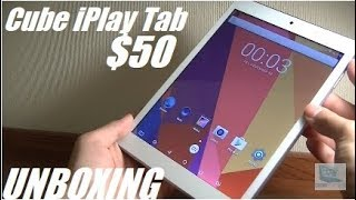 Unboxing: Cube iPlay 8 - Unique $50 Android Tablet!