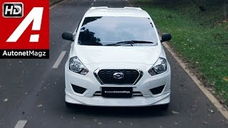 Test drive Datsun GO Panca hatchback Indonesia 2015