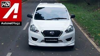 Test drive Datsun GO Panca hatchback Indonesia 2015