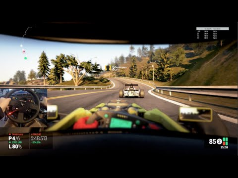 Project Cars GoPro Online Racing Formula Gulf 1000 - Cali Highway!