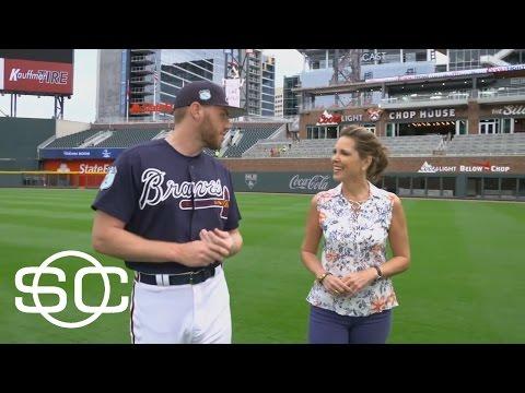 Freddie Freeman Full Interview With Hannah Storm | SportsCenter | ESPN