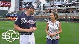 Freddie Freeman Full Interview With Hannah Storm | SportsCenter | March 31, 2017