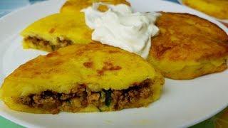 Зразы картофельные, цыганка готовит.😍👍 Оригинальные зразы с начинкой. Gipsy cuisine.