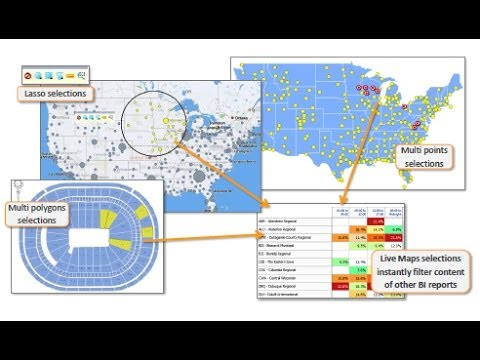 Integrating Oracle HTML5 Maps in OBIEE