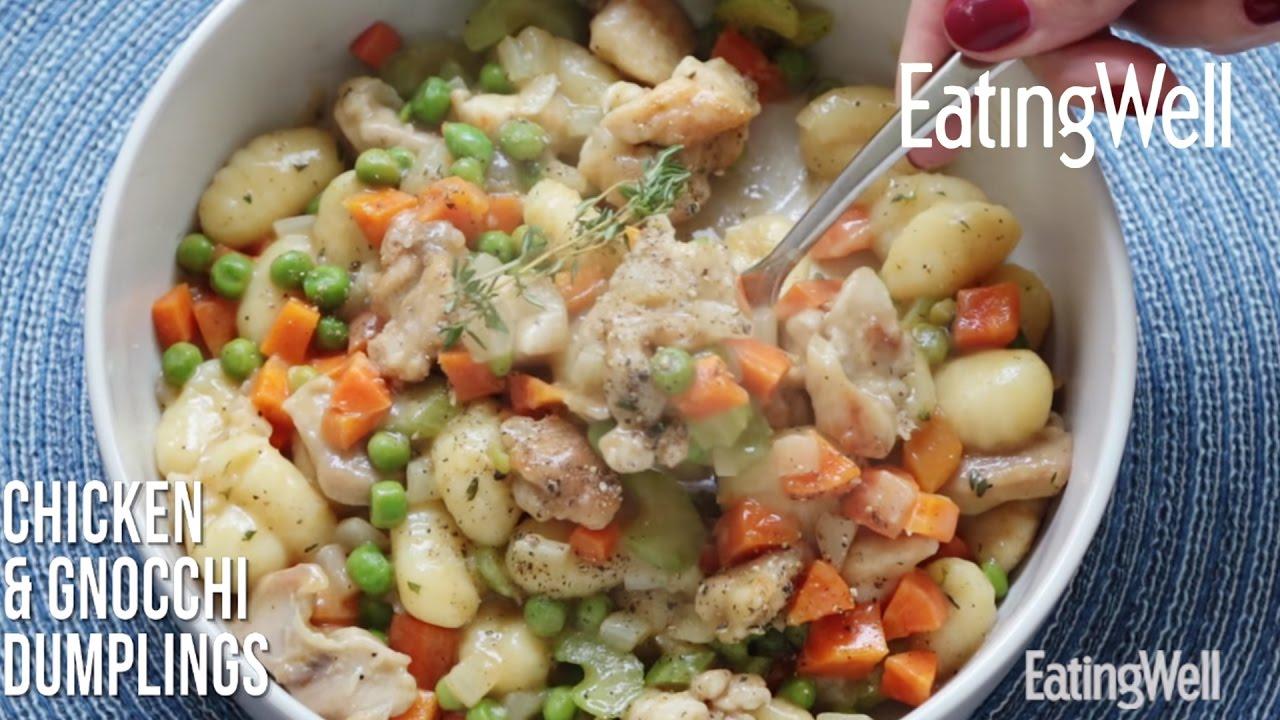 Chicken & Gnocchi Dumplings - YouTube