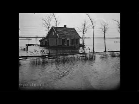 Watersnood in Noord-Holland