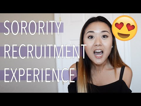 MY SORORITY RECRUITMENT EXPERIENCE + ADVICE | Demi Bang