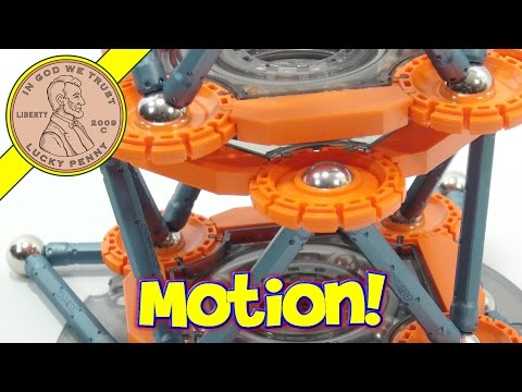 Geomag Mechanics Magnet Building Set, Magnets In Motion!