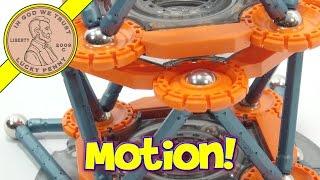 Geomag Mechanics Magnet Building Set, Magnets In Motion!