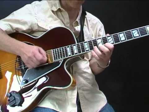 Playing jazz blues with a loop pedal
