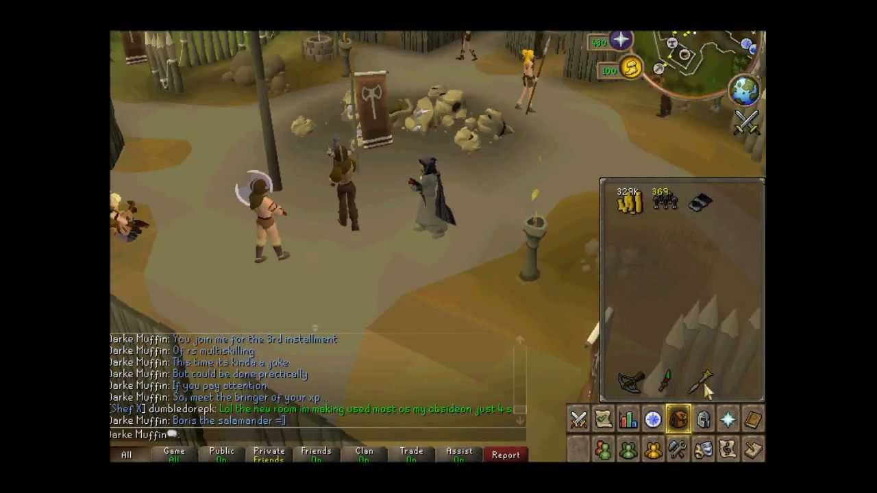 Jarke Teak Multiskilling Method 3 Combat Xp And Fletching Youtube Gaming
