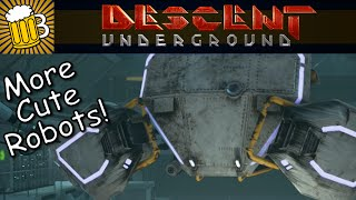 Descent Underground Gameplay - First Look and Review (Descent Underground Game on PC/Steam)