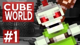 Cube World Gameplay: Character Customization & Beginning! w/ Ze - Ep. 1