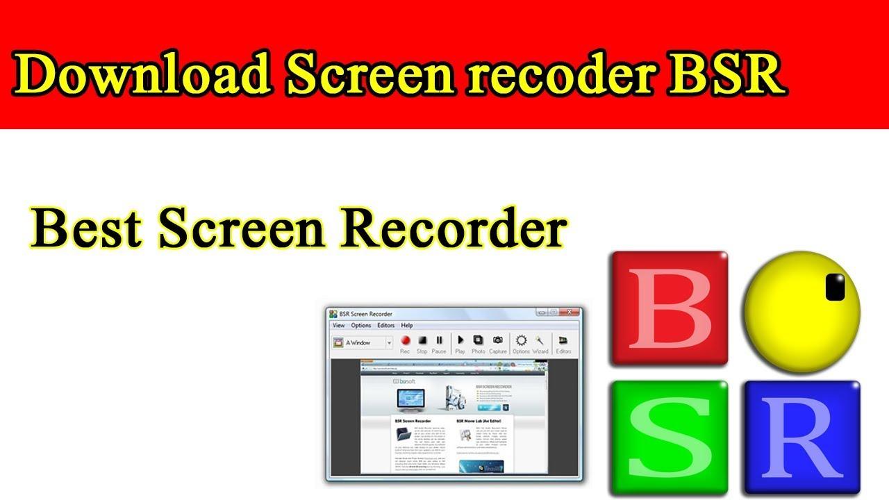 bsr screen recorder version 4