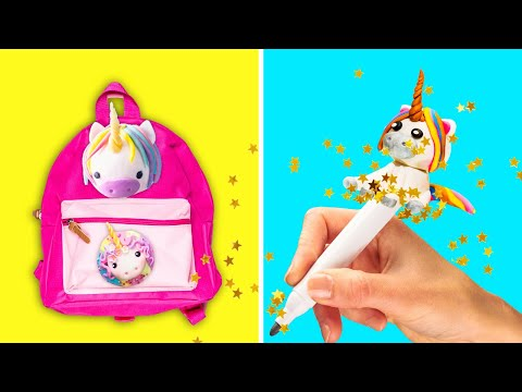 36 CUTE DIYS AND CRAFTS FOR KIDS || School Supply Ideas and Home Decor Tips by 5-Minute DECOR!